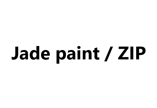 Natural Finishes - Jade paint / ZIP