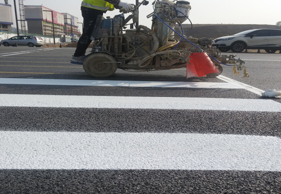 Resin for road marking paint