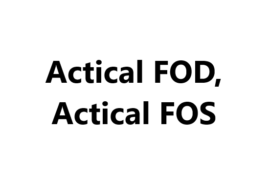 Food Additives _ Actical FOD, Actical FOS