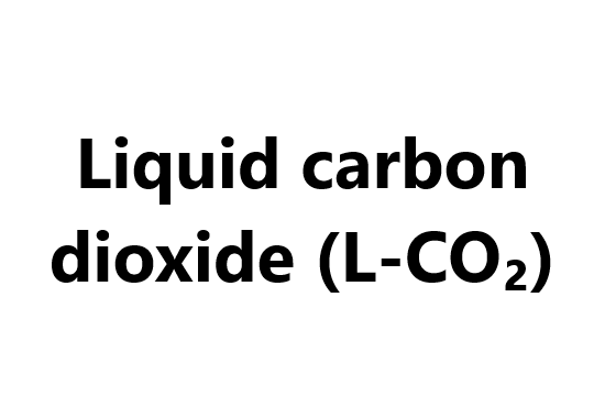 Liquid carbon dioxide (L-CO₂)